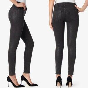 Hudson Tati Glitter Midrise Nico Super Skinny Jean
